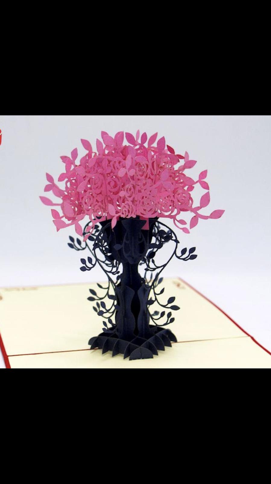 Flower pop-up Cards
