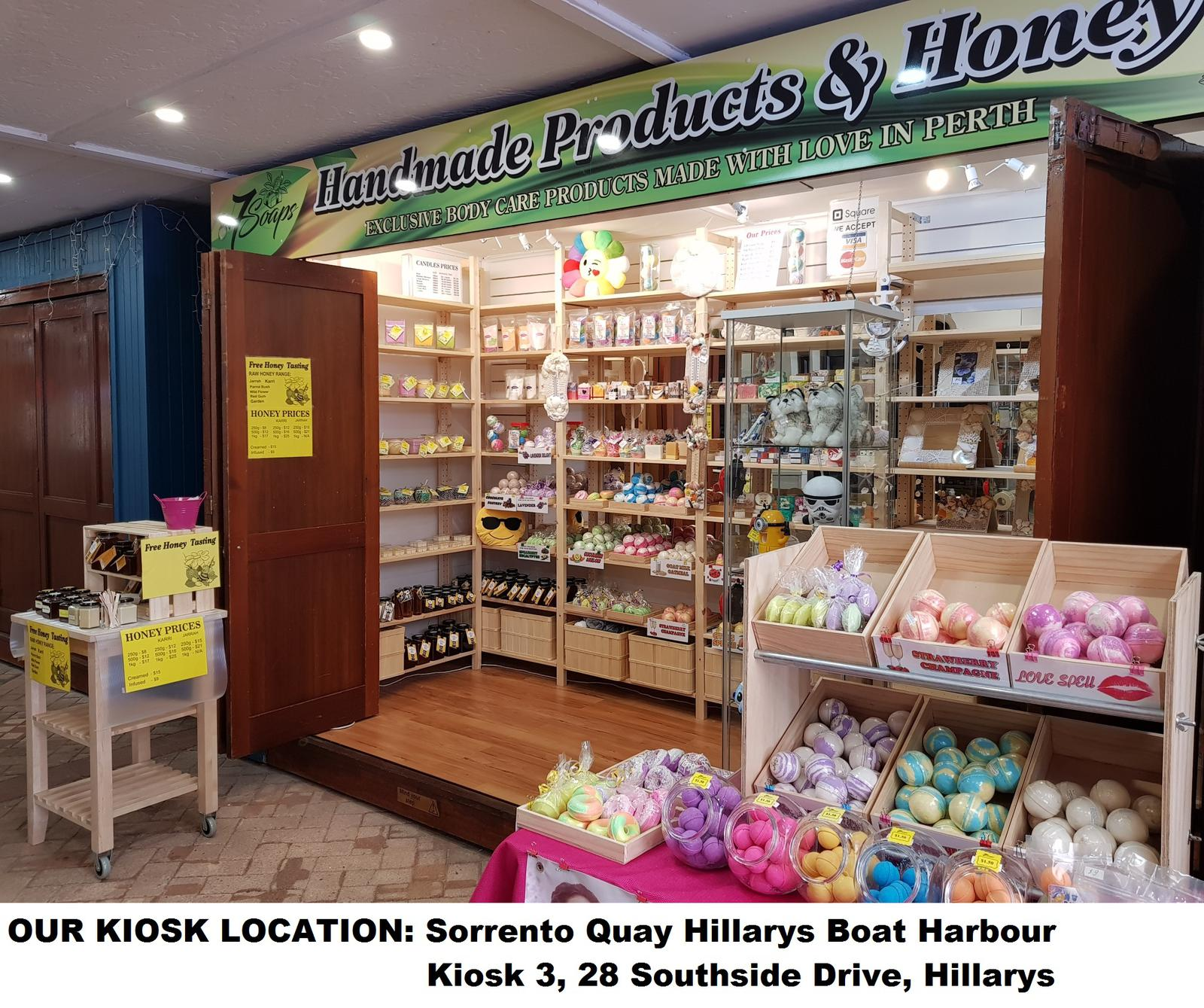 OUR KIOSK IN SORRENTO QUAY HILLARYS BOAT HARBOUR