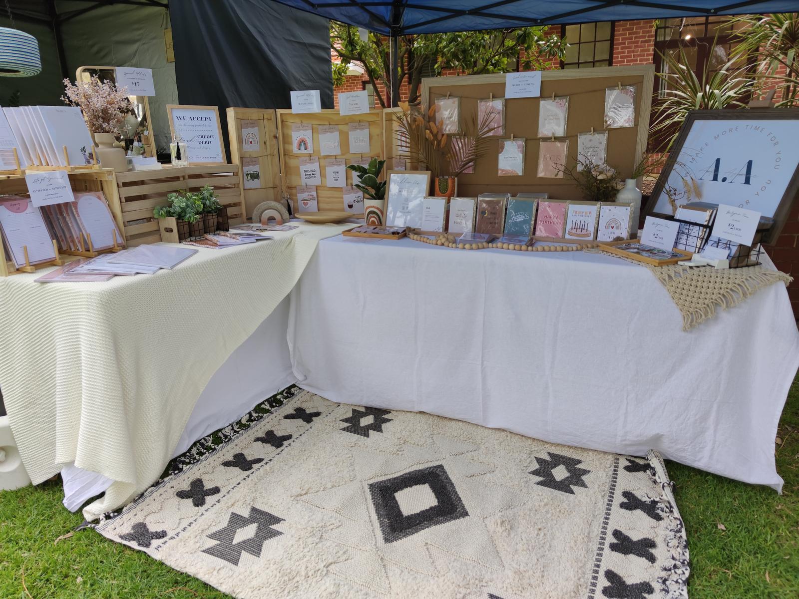 Perth Makers Market Setup
