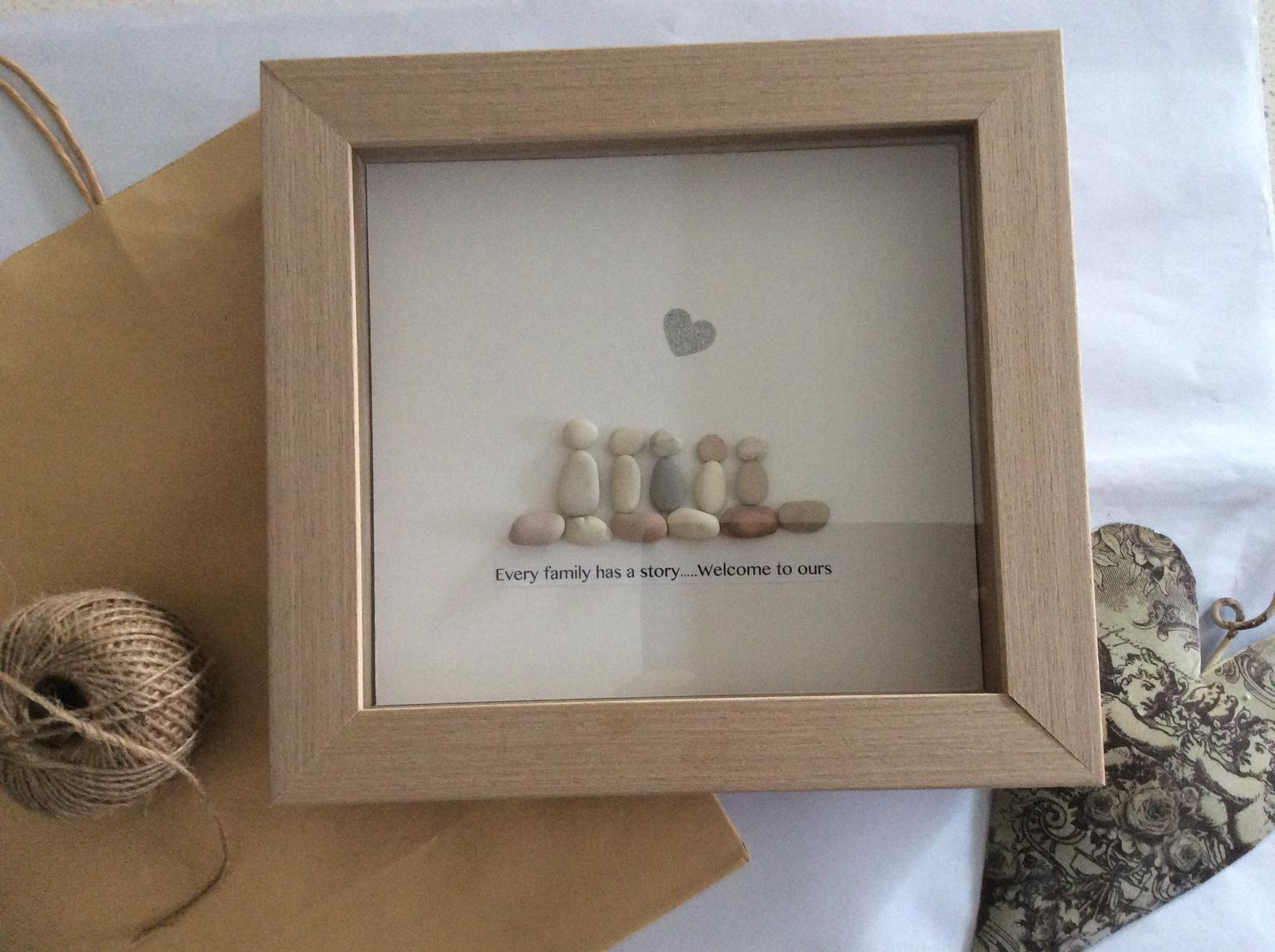 Adorable unique hand crafted picture