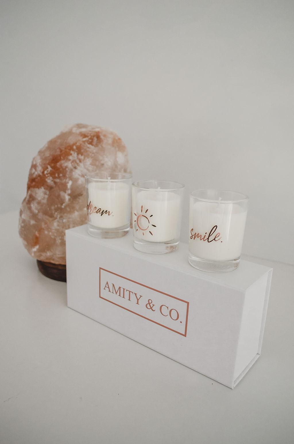 Mini trio candle pack