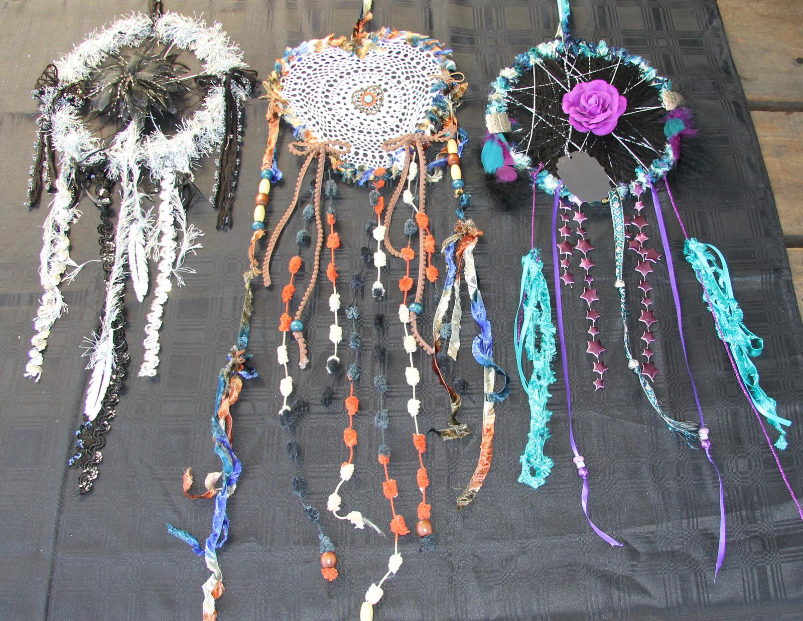 Upcycled Dreamcatchers