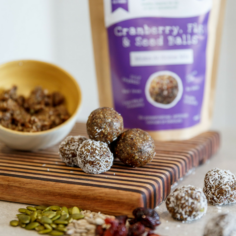 Cranberry, Fig & Seed Ball Mix