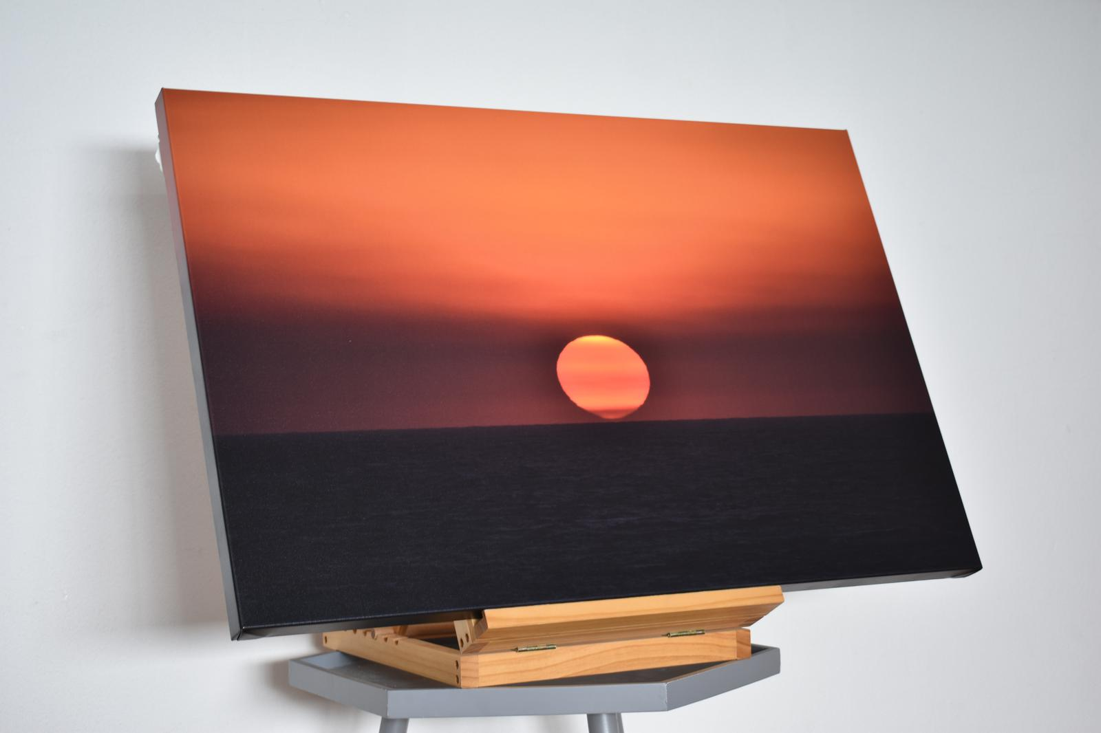 "20 x 30 inch canvas of ""Cinematic Sunset"""