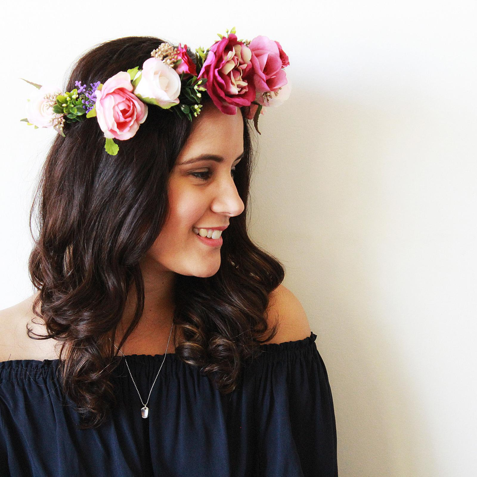 The Sofia Silk Flower Crown