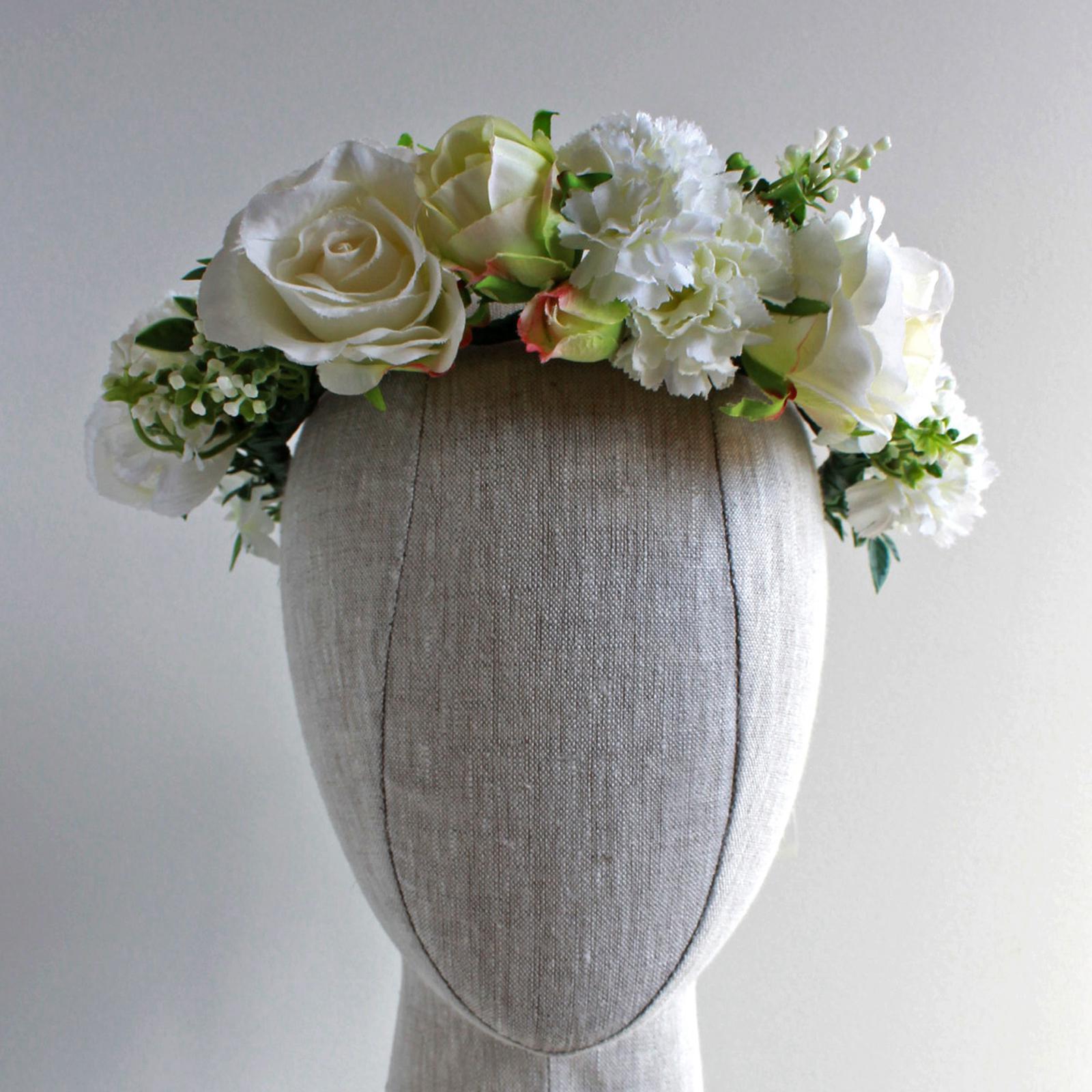 The Hen Silk Flower Crown