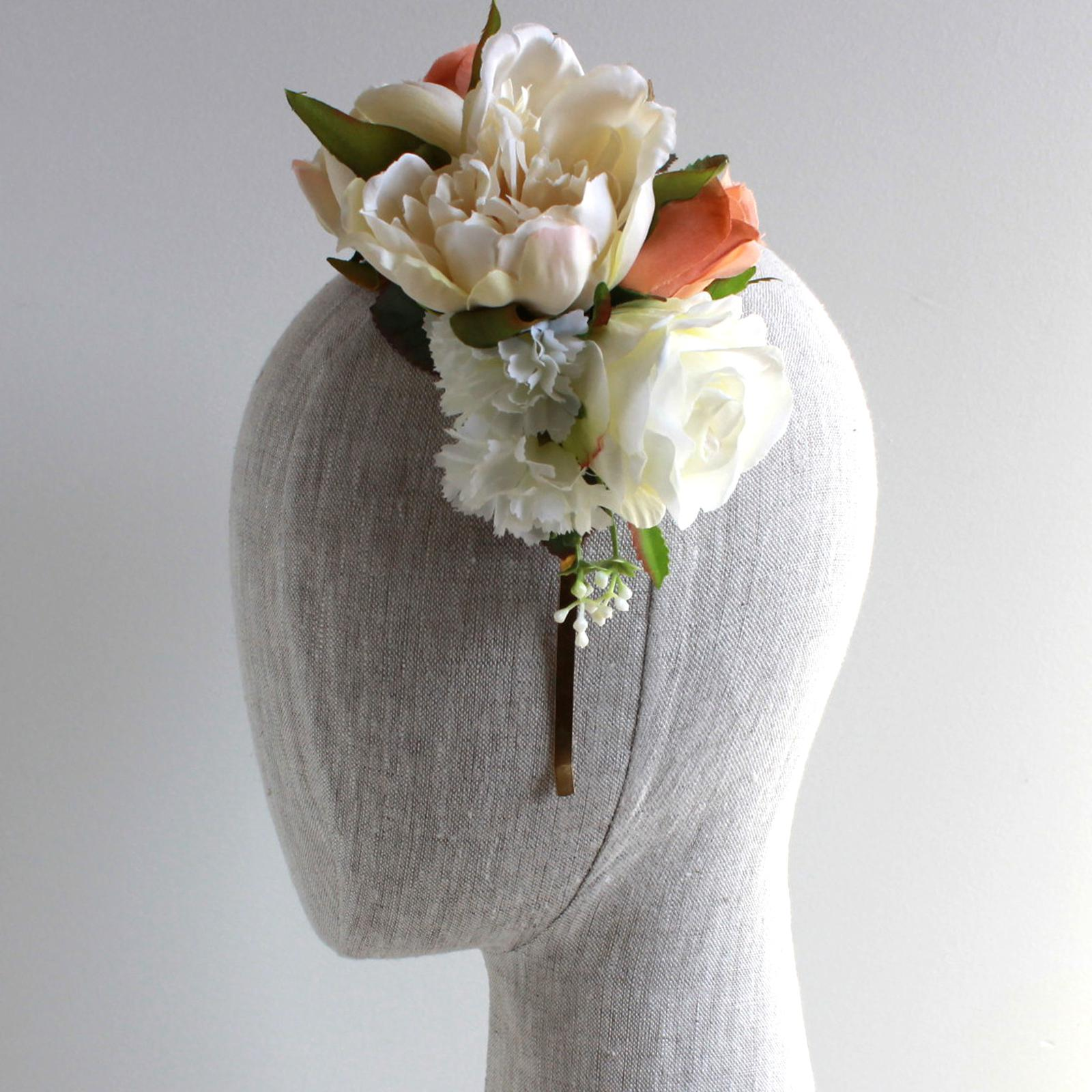 The Lola Reversible Silk Flower Headband