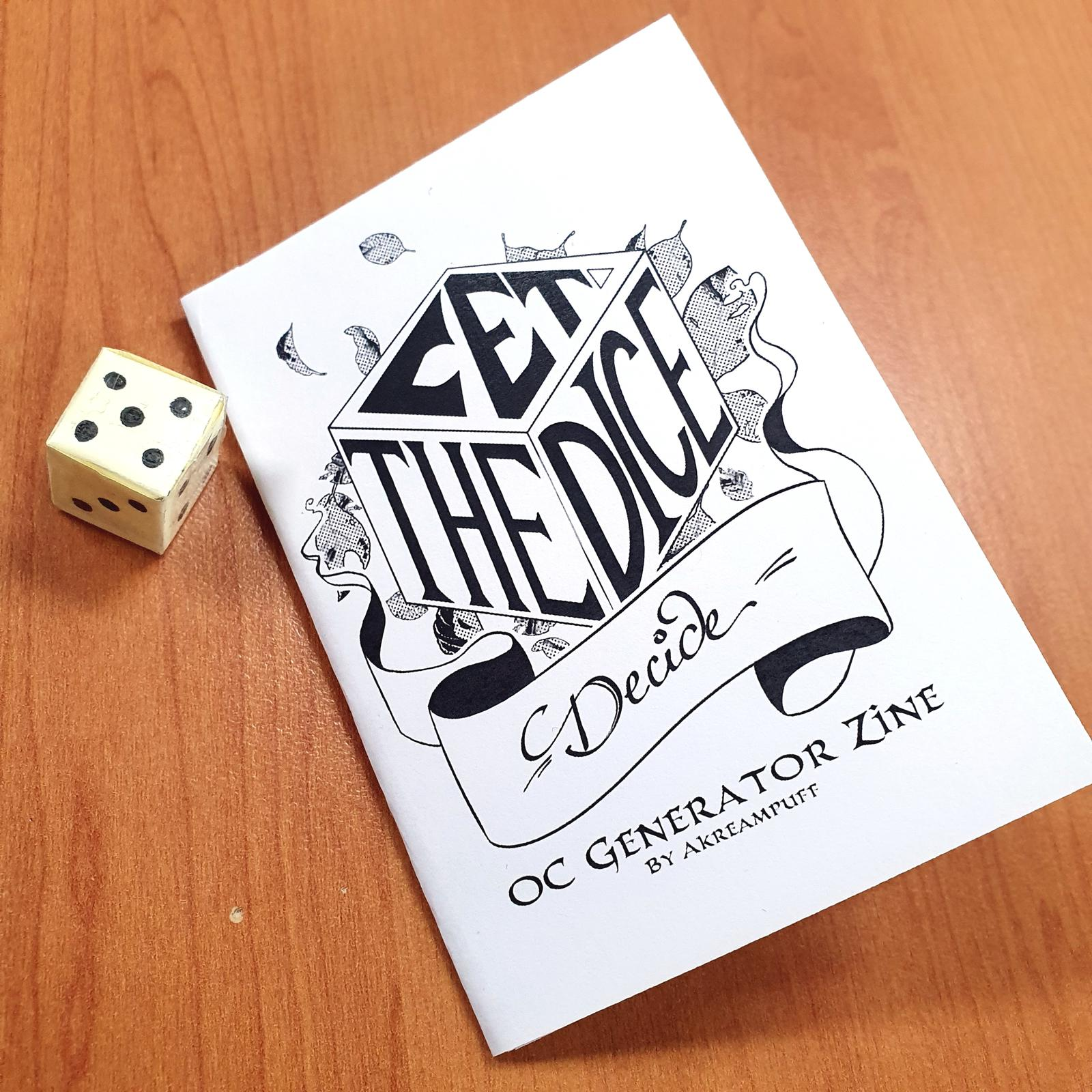 Let the Dice Decide; OC Generator Zine
