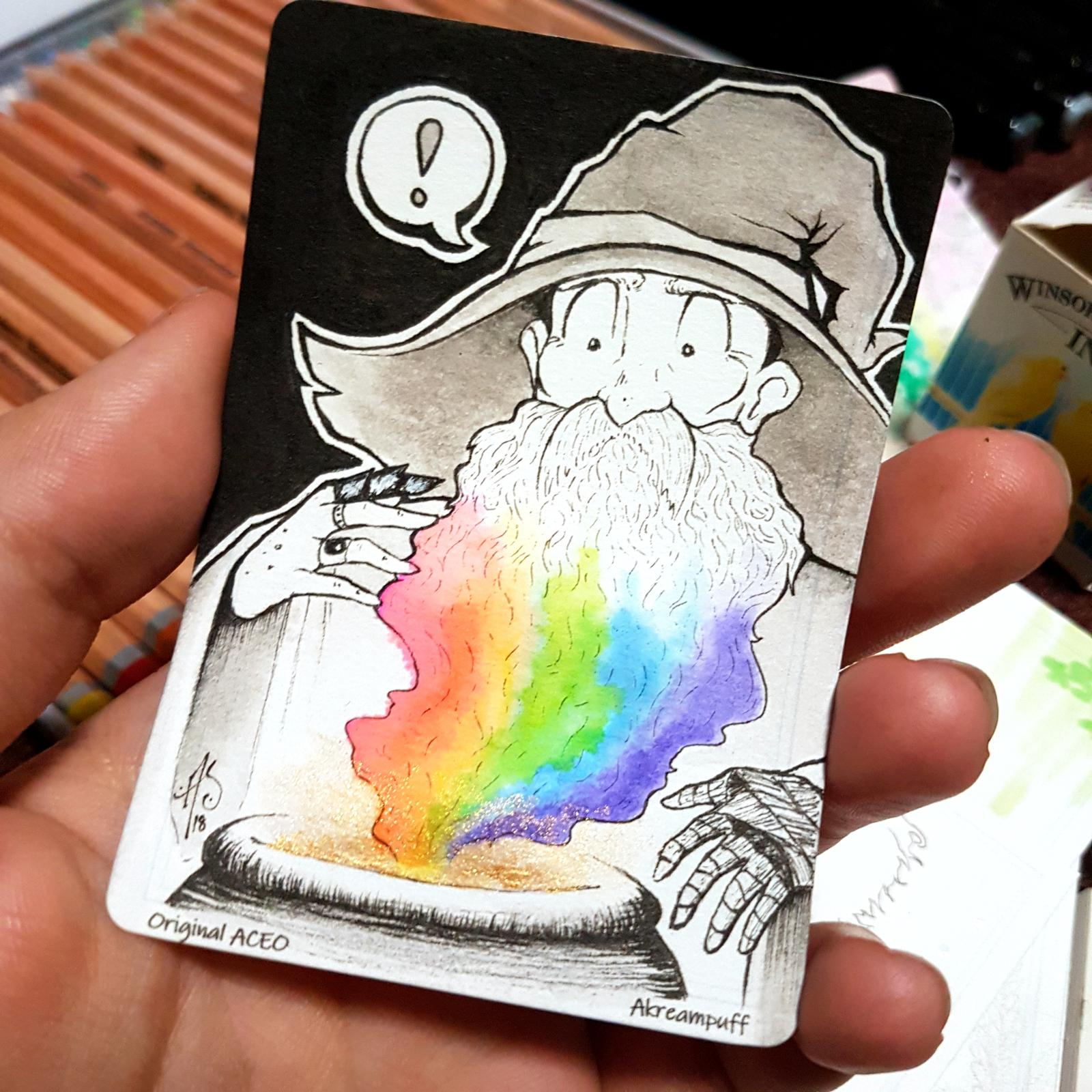 Akreampuff's original ACEO cards are available for $10 or less!