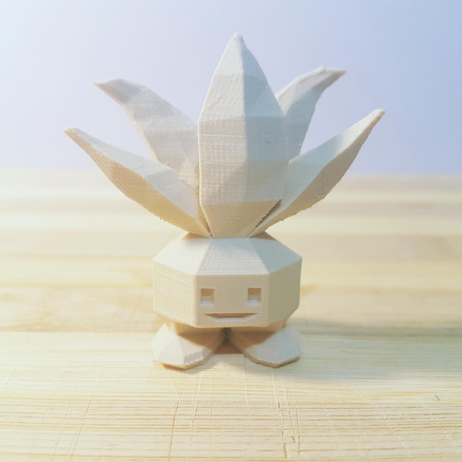 3d ornamental figurine - Happy Plant