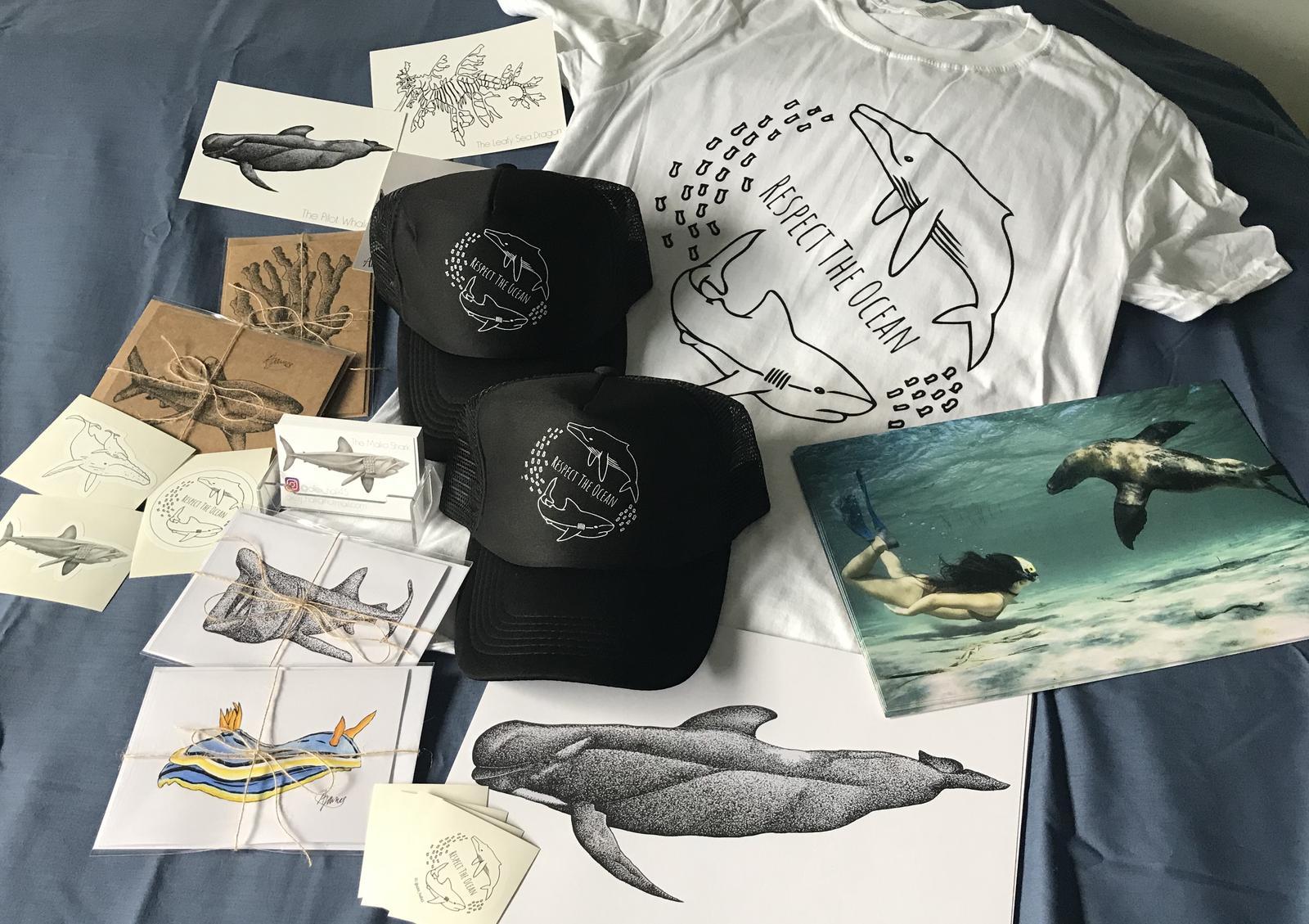 Respect The Ocean Merchandise