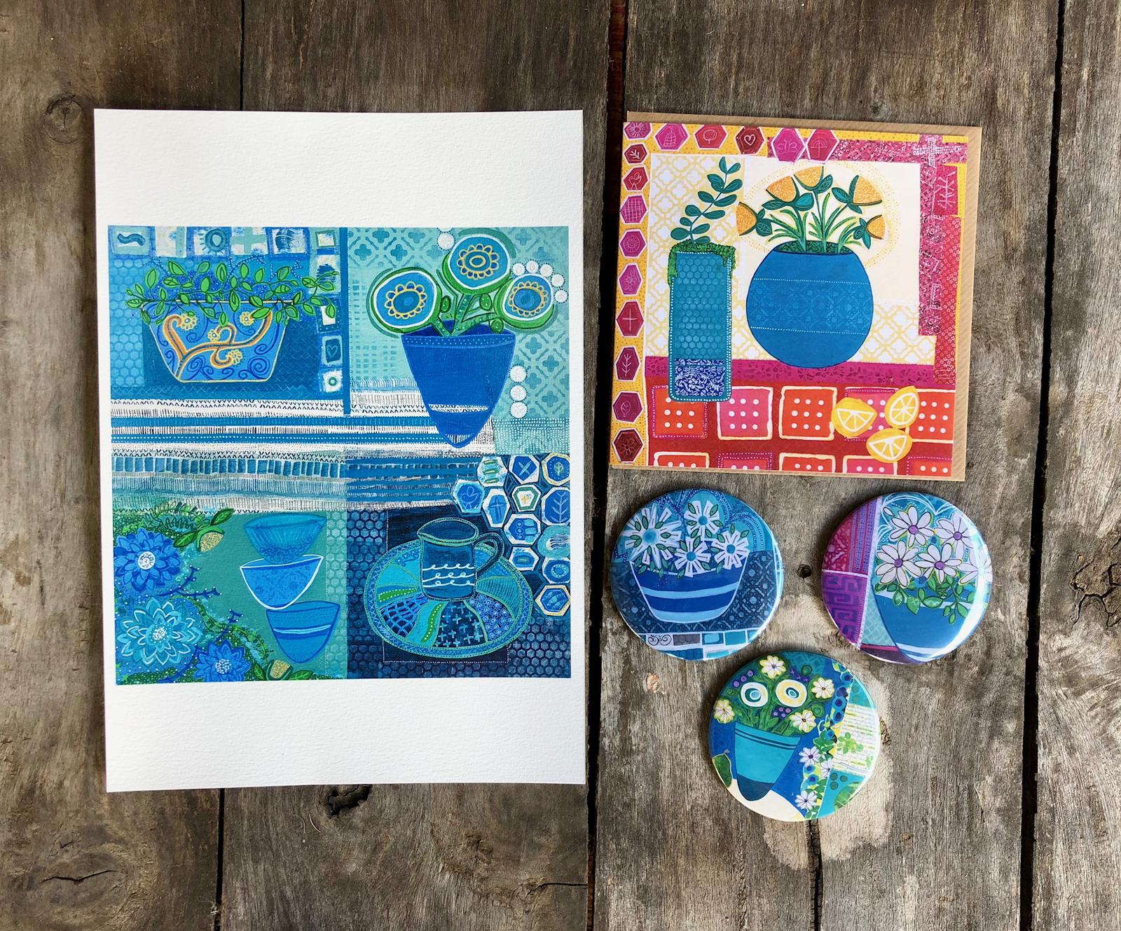 Prints, Greeting Cards & Magnets