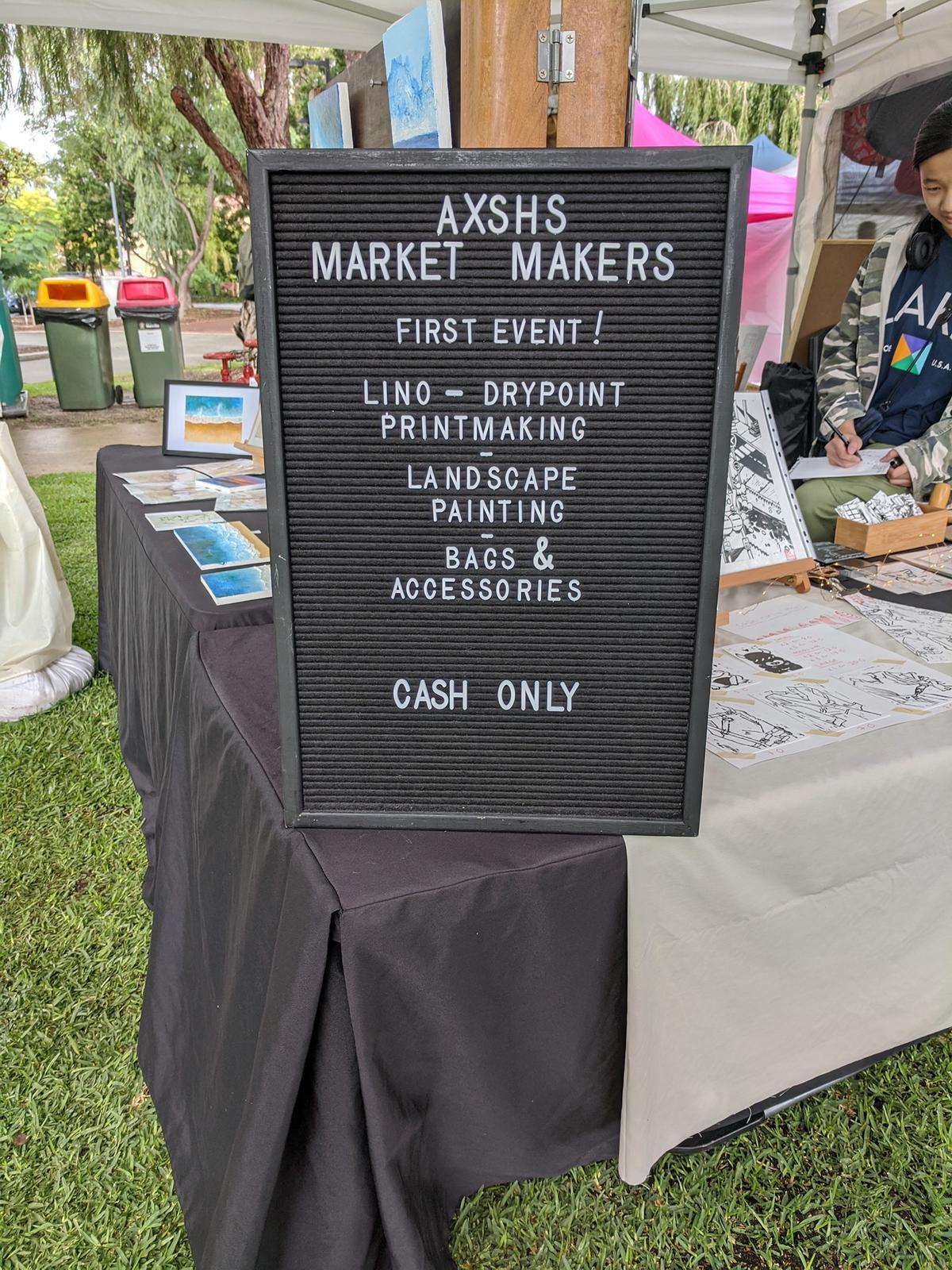 May Market - AXSHS Market Makers