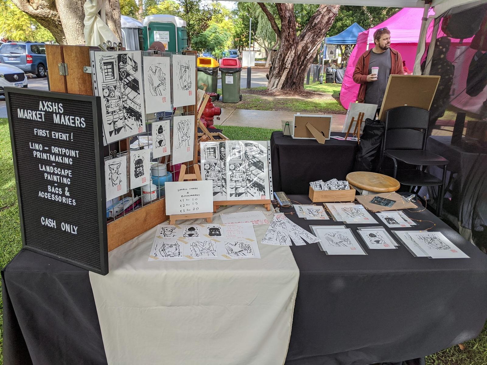 AX Market Makers - Printmaking