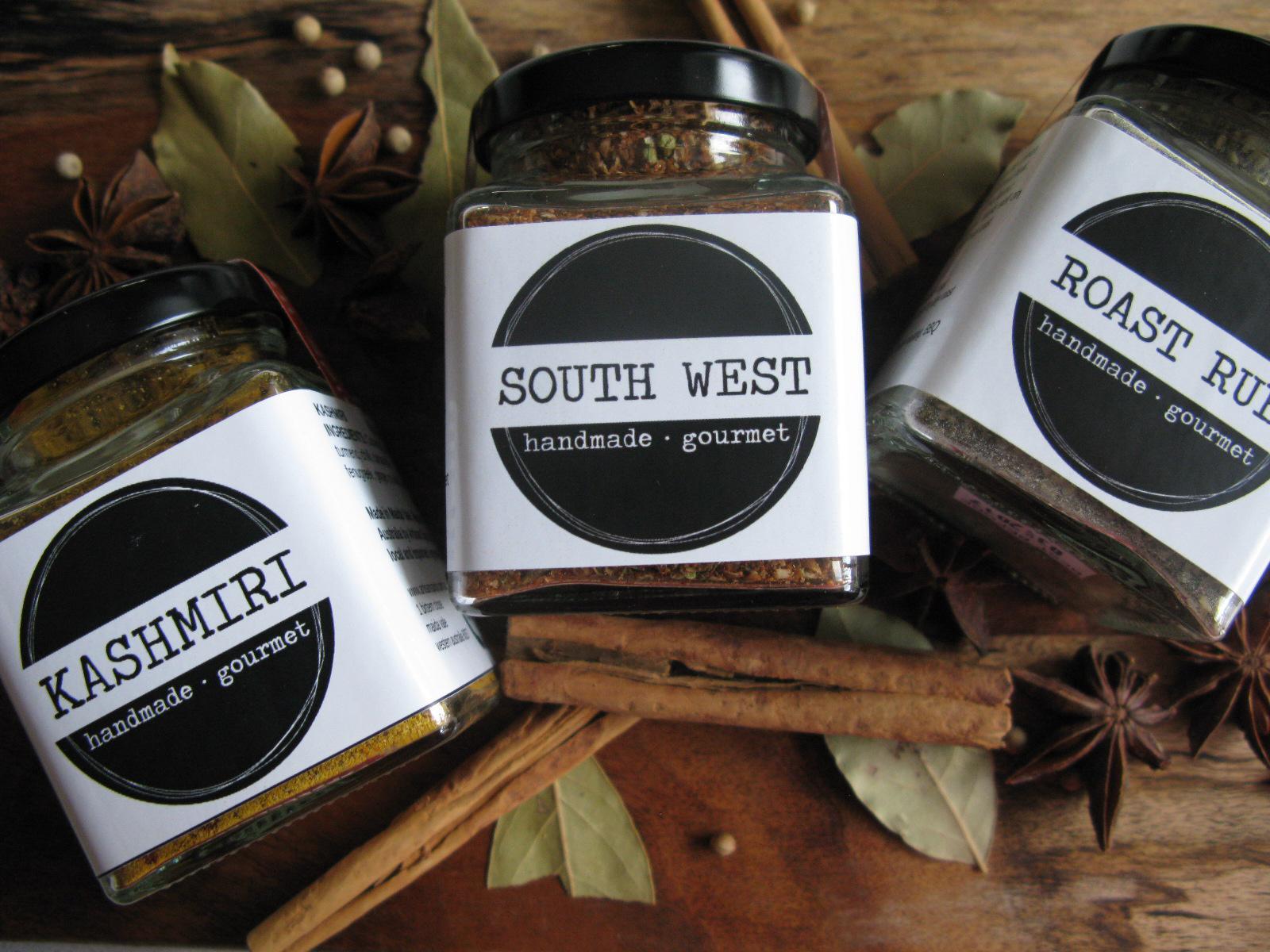 Artisan Spice spice jars