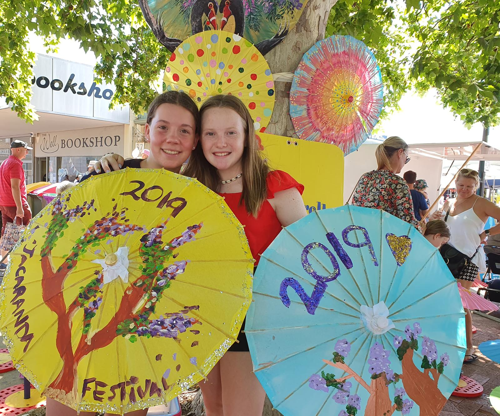 Jacaranda Festival, Creativity with Arty Brellas