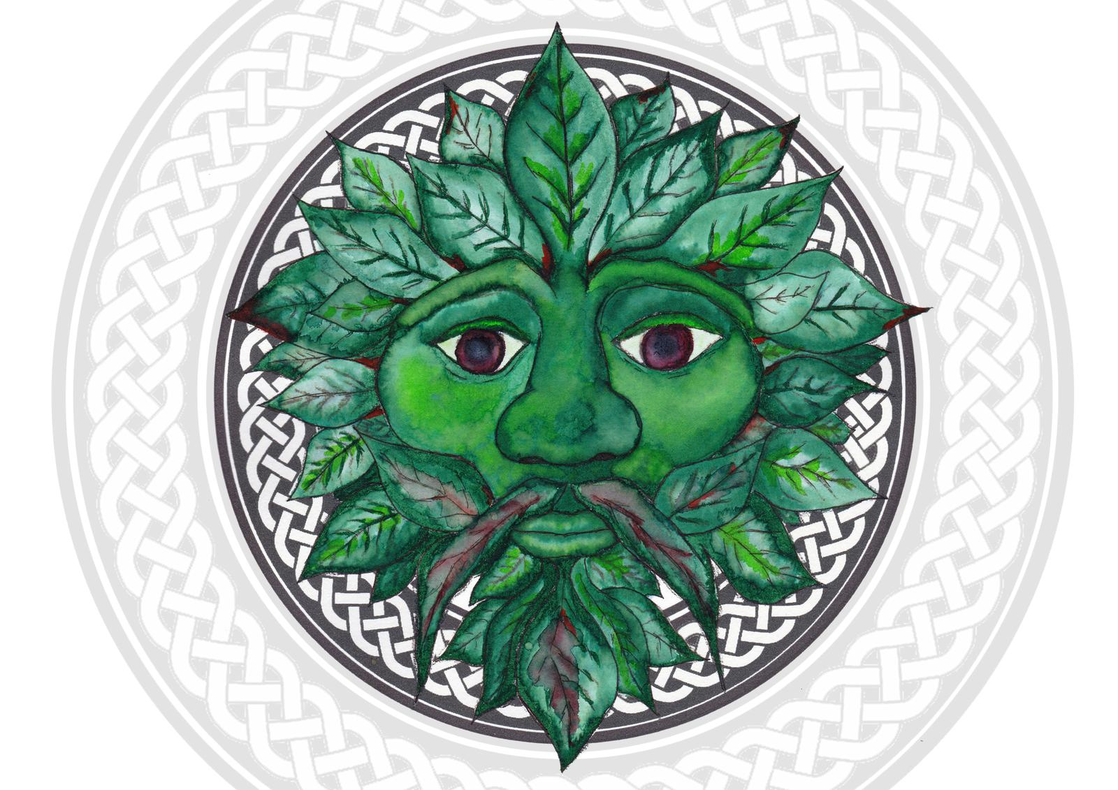 Art Prints - Greenman