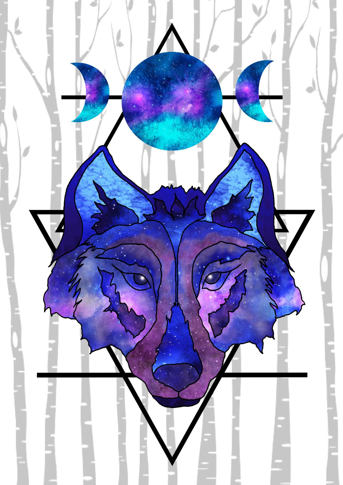 Art Prints - Wolf Moon