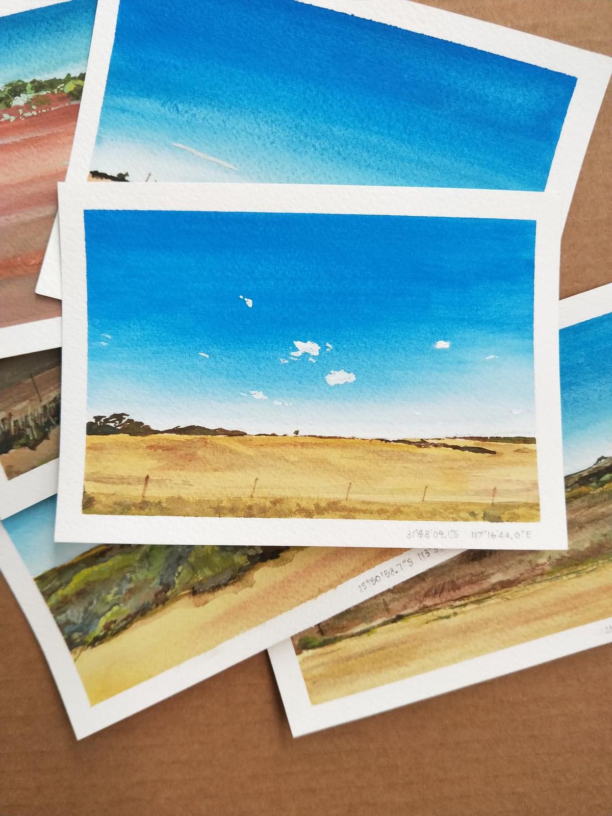 Western Australian Landscape Postcards