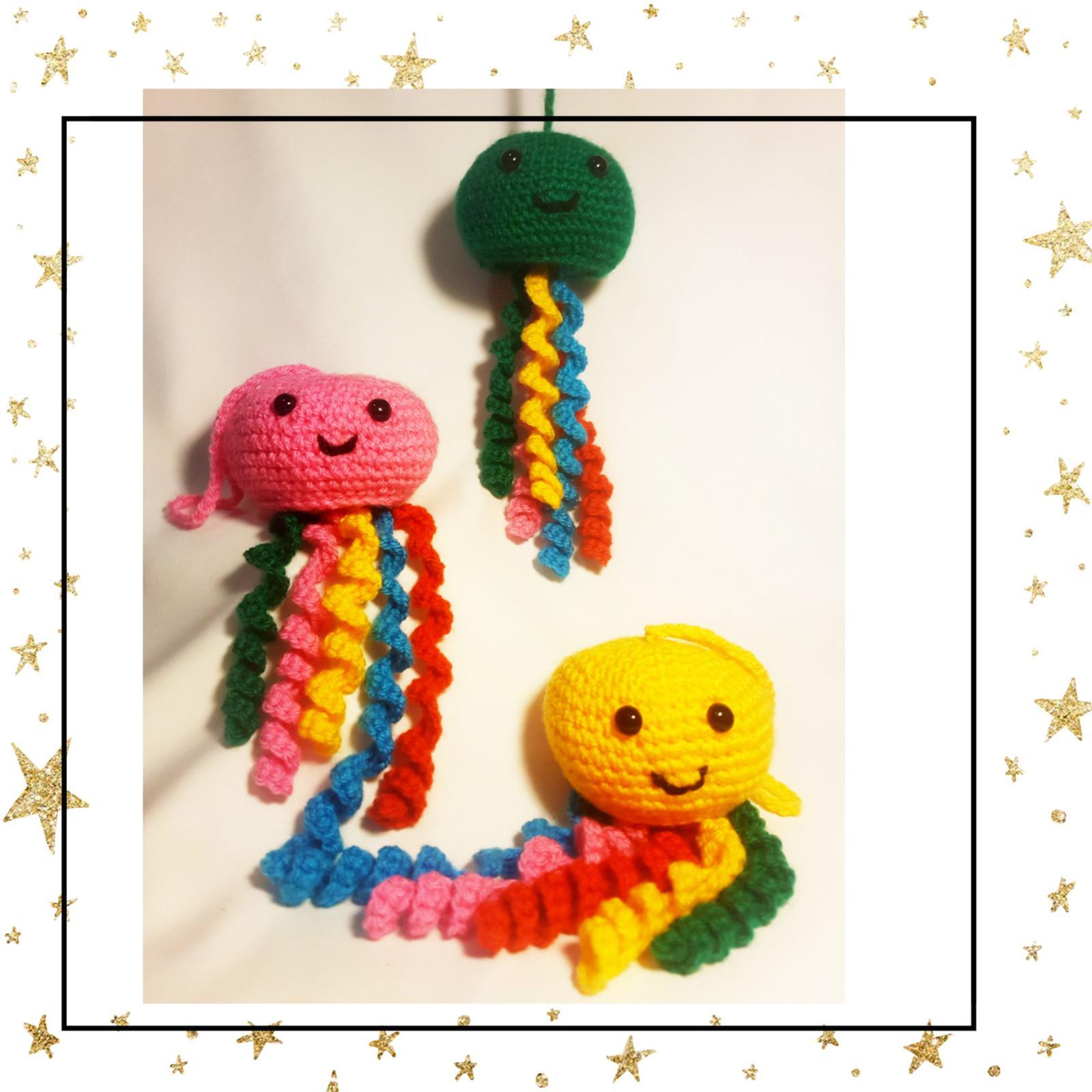 Crochet Jellyfish Plushie