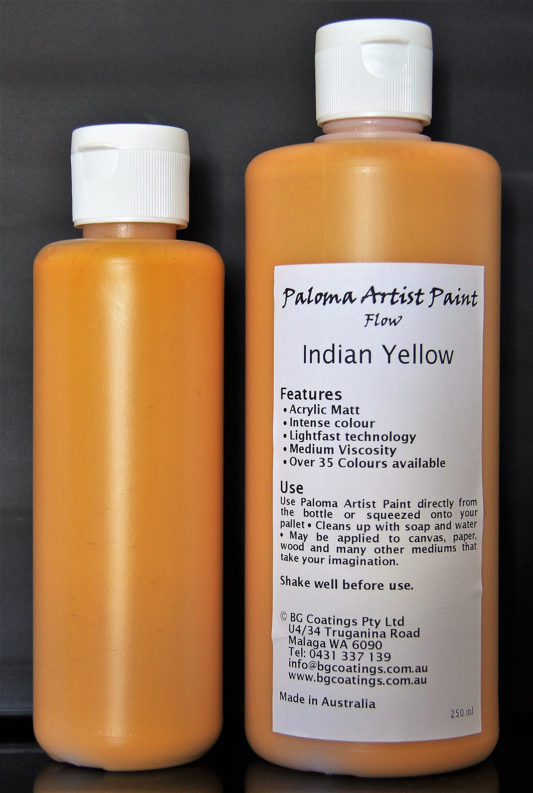Paloma Artist Paint-Indian Yellow