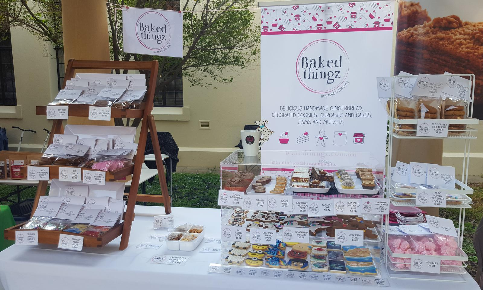 Baked Thingz stall