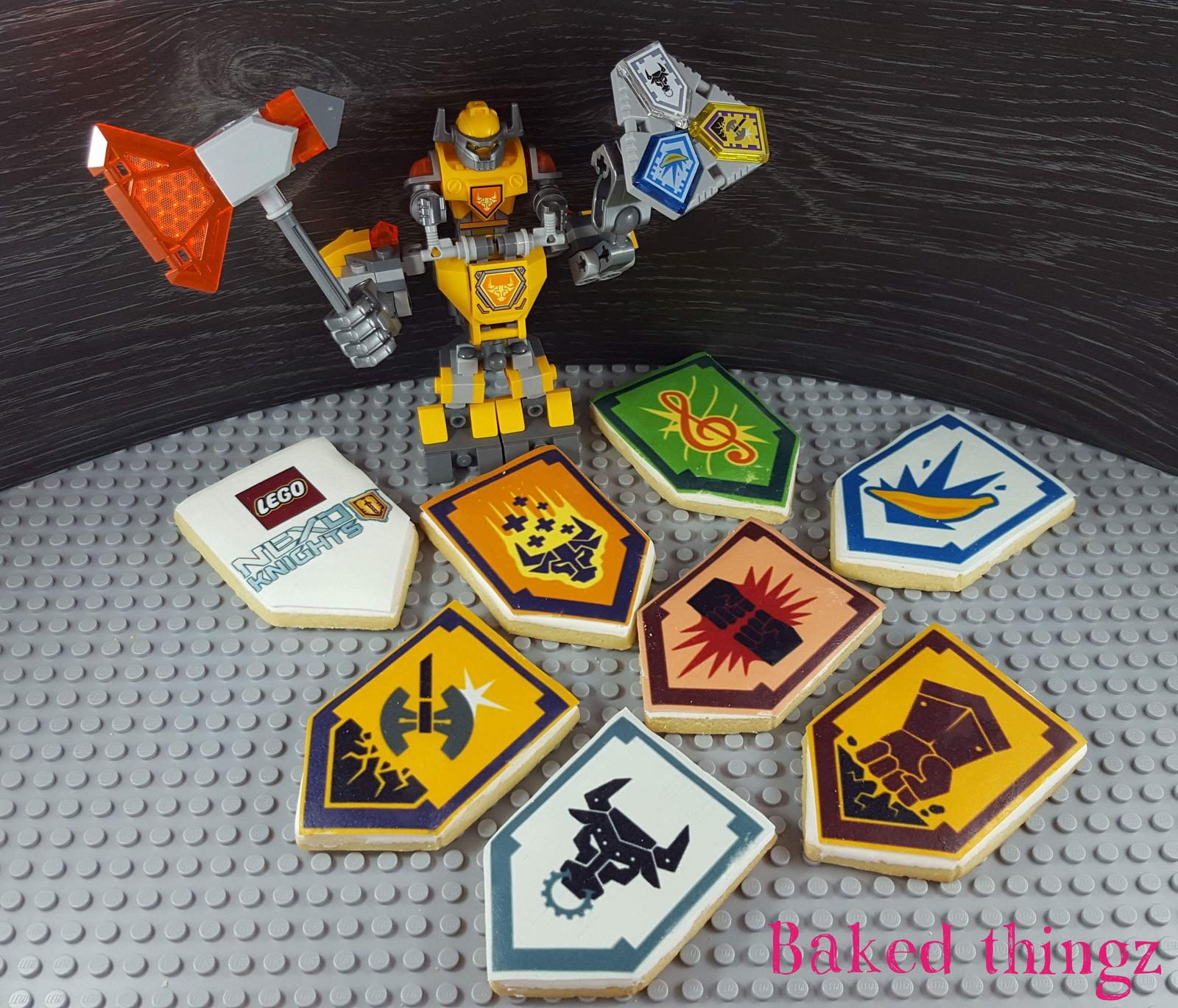 Lego Nexo Knight cookies
