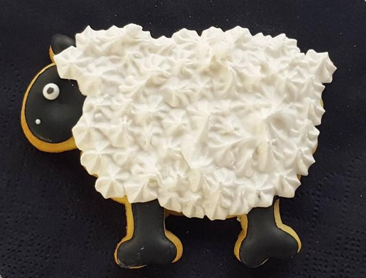 Sheep cookie