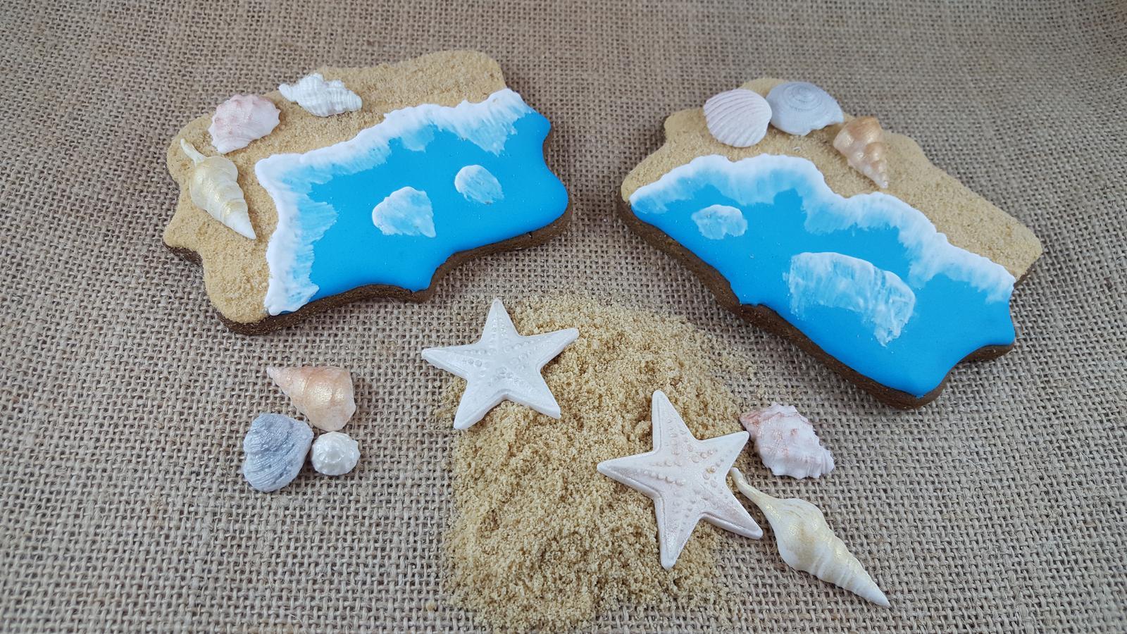 Seashore cookies