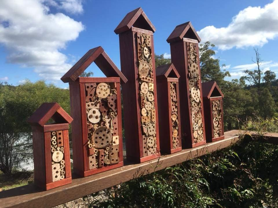 Native Bee Hotels