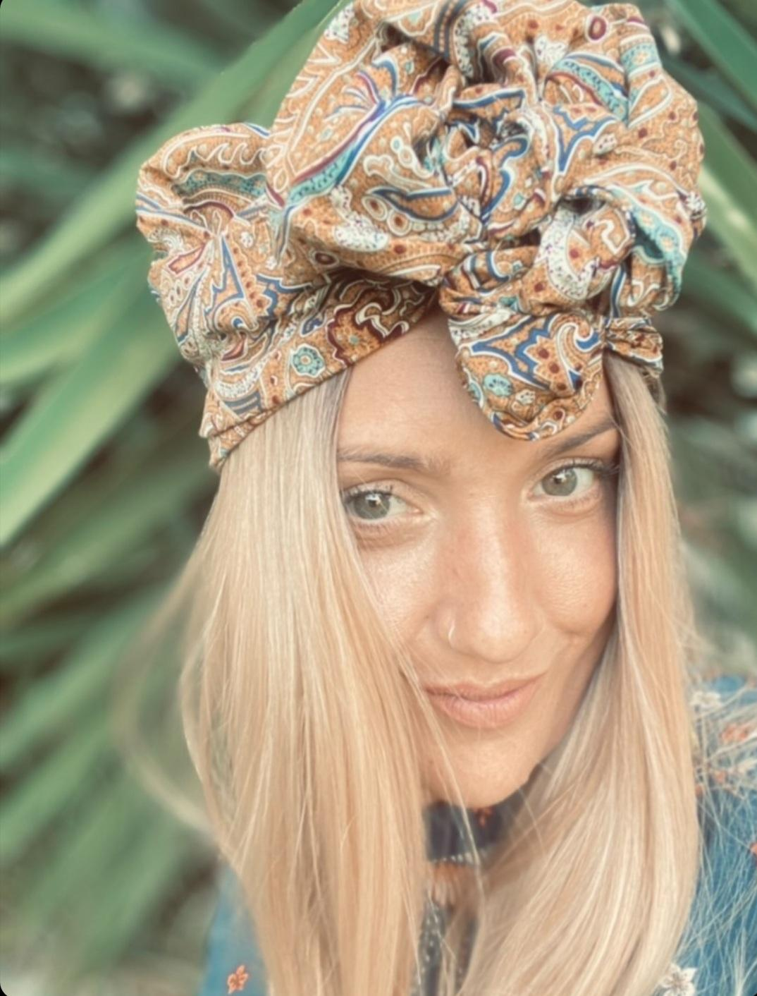 Wired turban