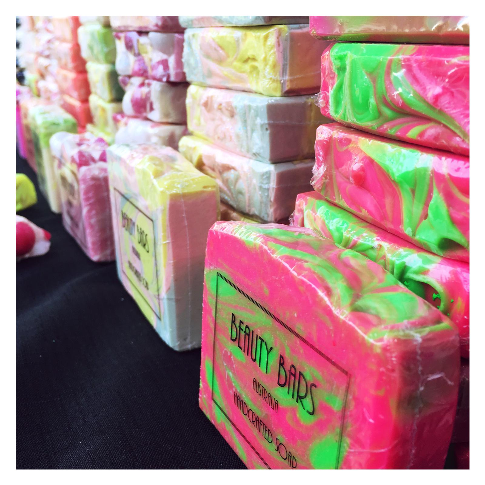 Market Day Soap Stacks