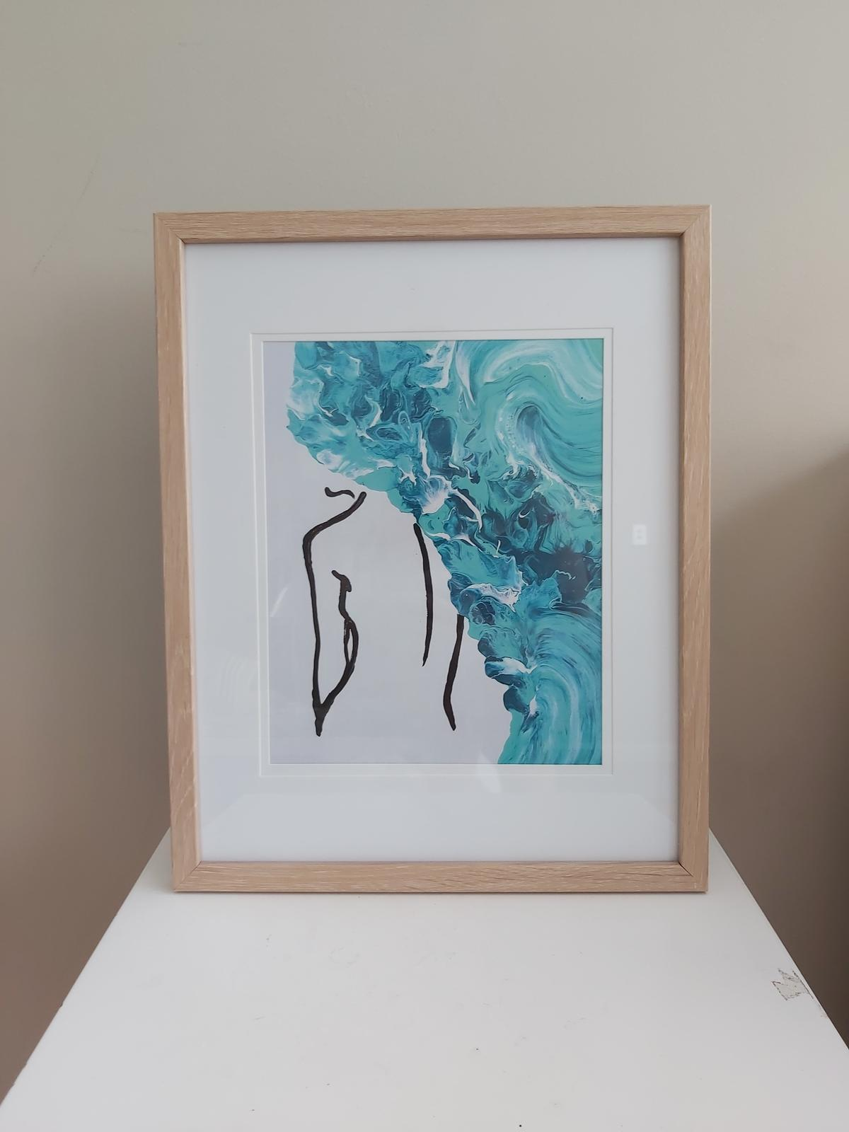 Ocean inspired framed arts