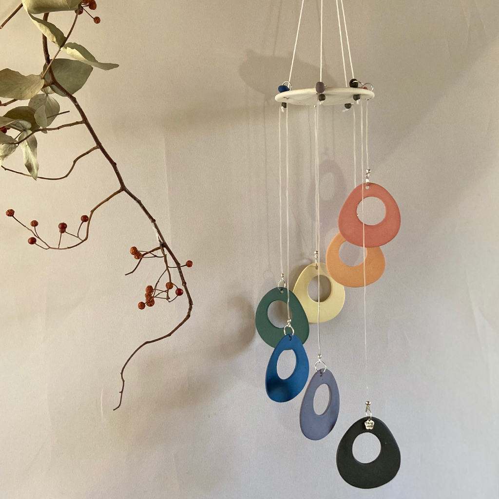 Prcelain wind chime