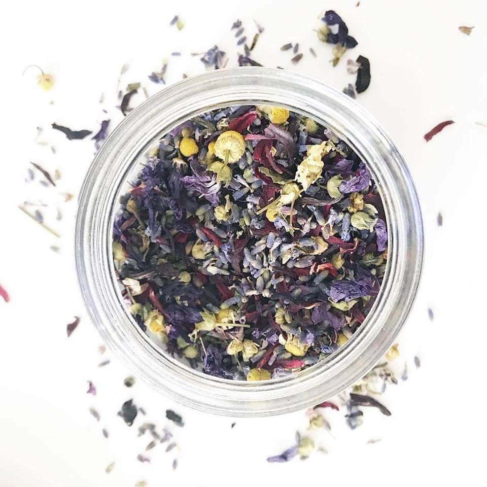Lavender & Mallow Bath Tea