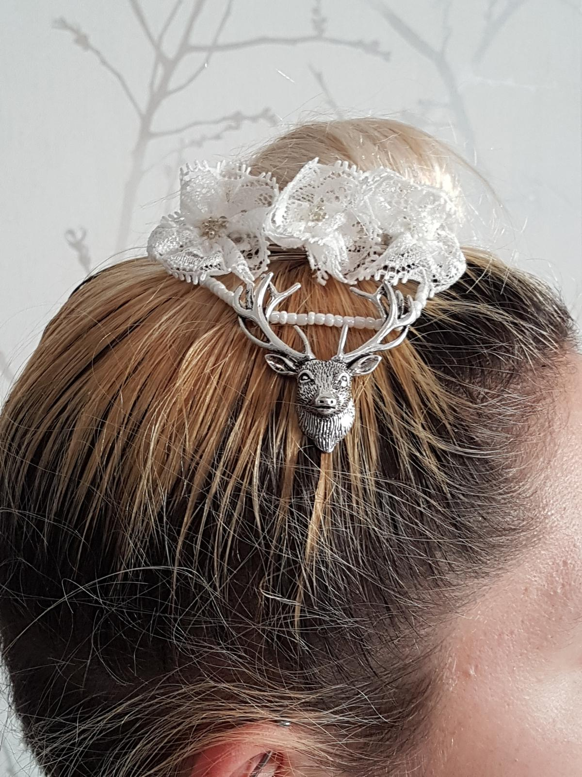 Stag Hairpiece