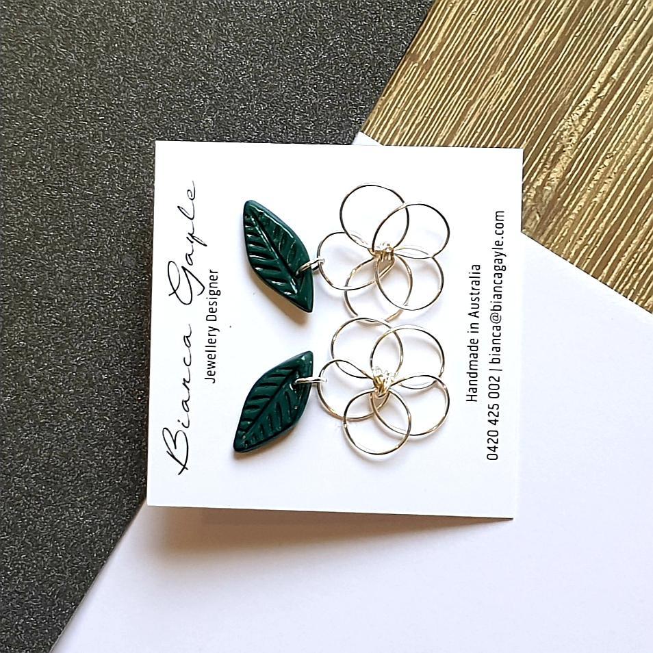 Picollo Fiore charm earrings
