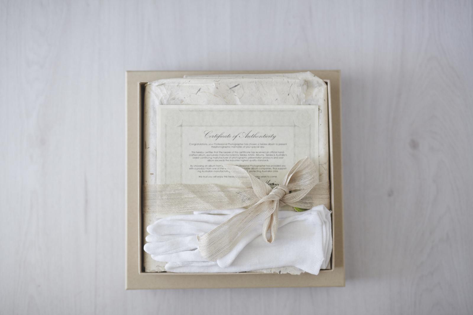 Hand crafted fine art album, custom designed with all your precious memories