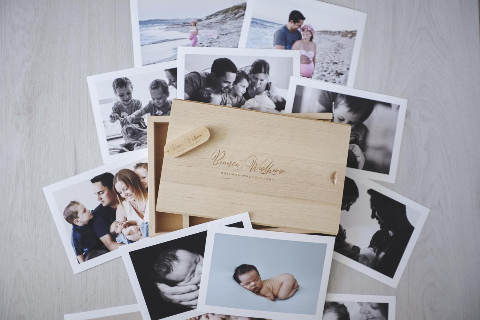 Digital Collection package with USB and fine art photographic prints