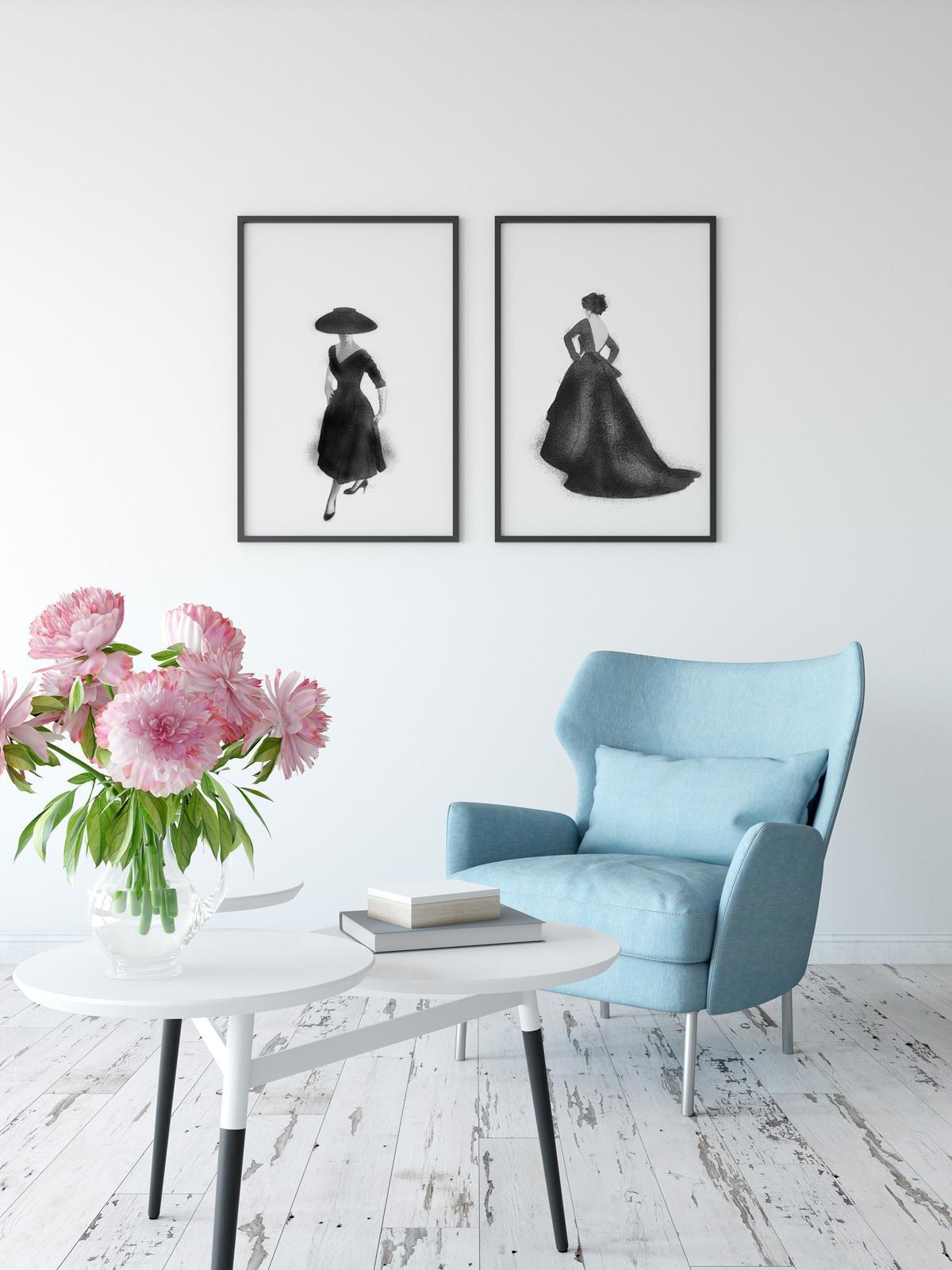 Vintage Dior print
