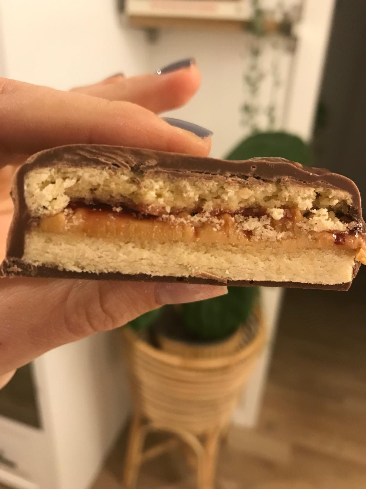 PB&J cookie sandwich