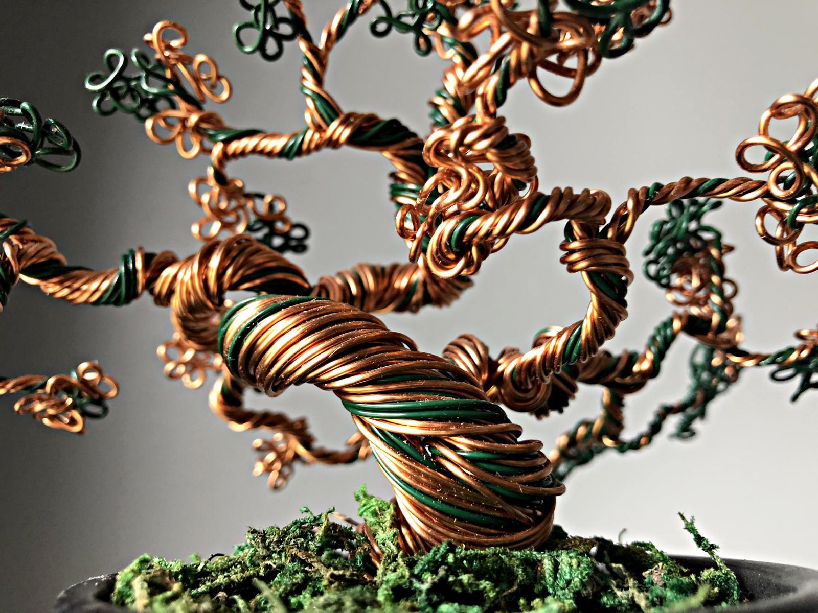 Wire Bonsai Sculpture