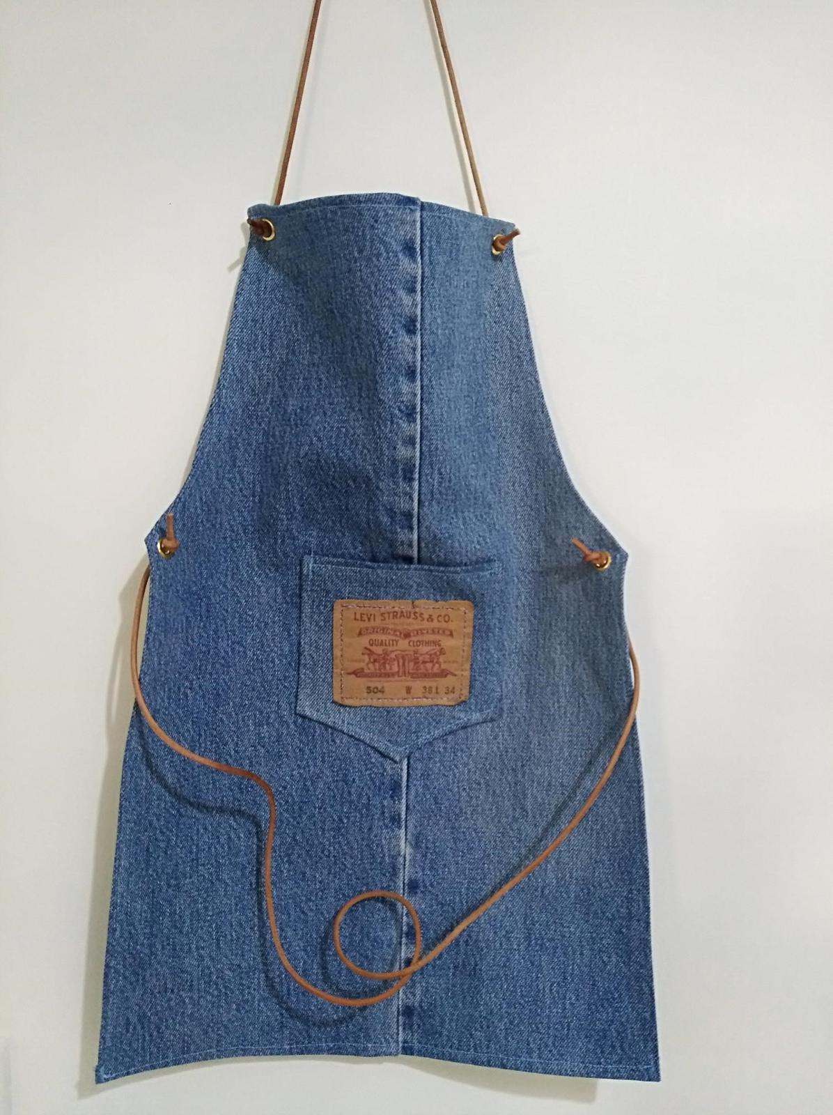Levi Denim Apron Childs