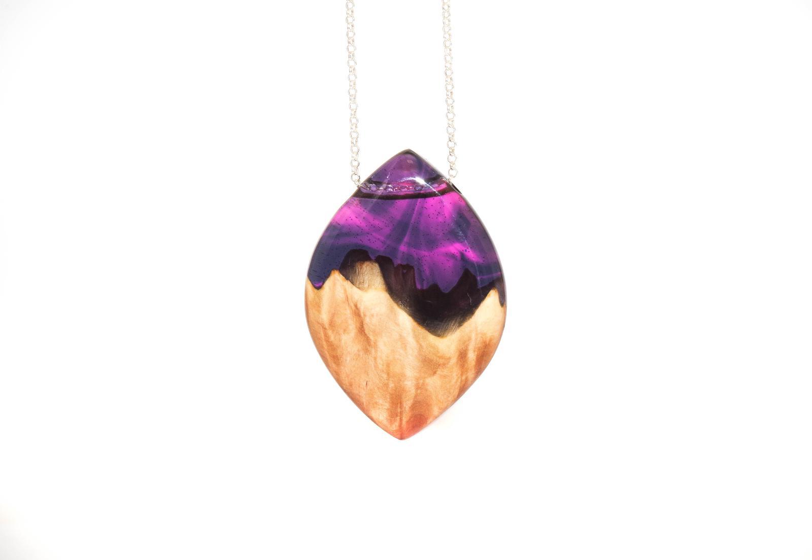 Burl pendant