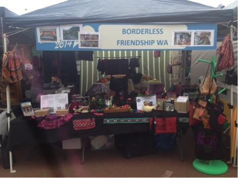 BFWA selling handicrafts