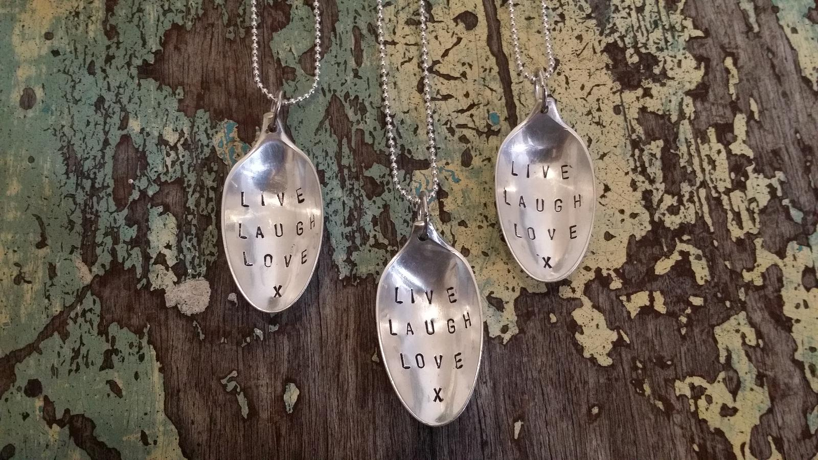 Vintage Spoon Pendants