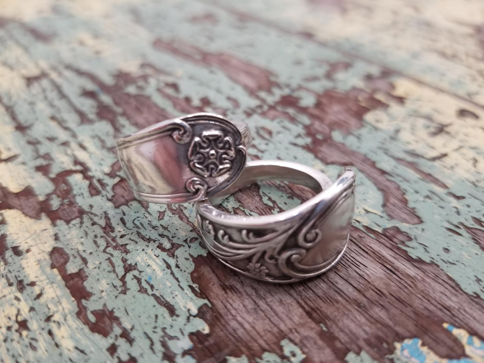 Branching Out Designs Vintage Spoon Rings