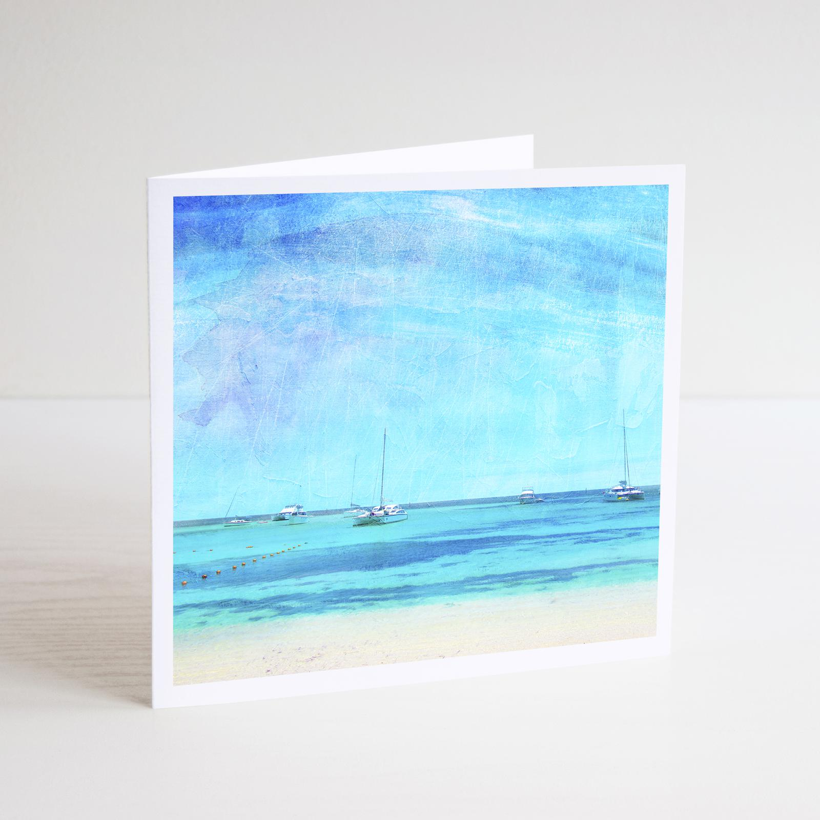 Summer Days on Rottnest - Notecard