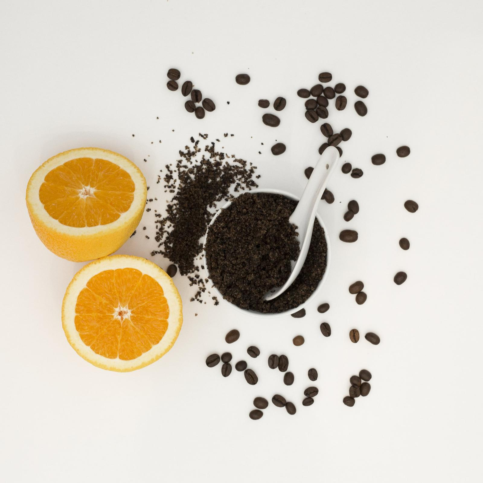 Coffee & Wild Orange Body Scrub