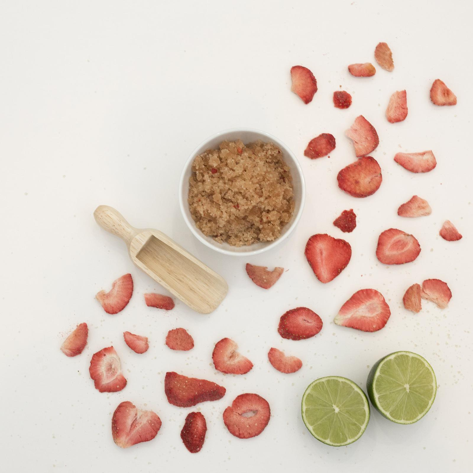 Strawberry & Lime Body Scrub